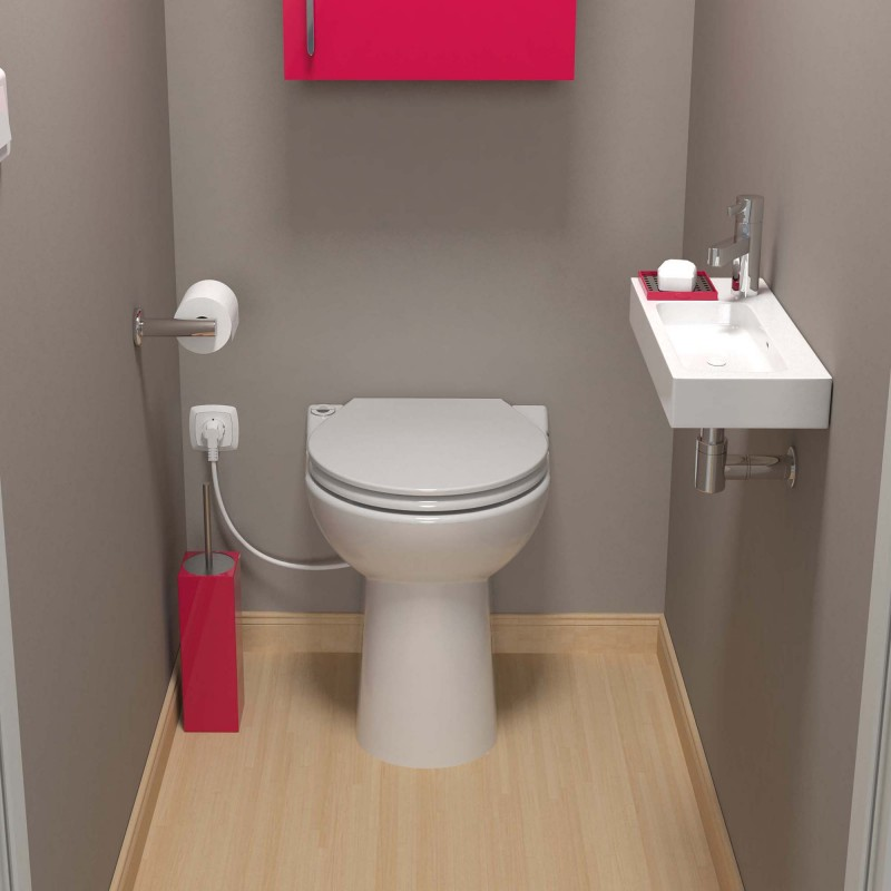 Podłączenie toalety do wody